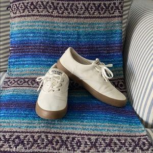 Mens SPERRY Top-Sider Canvas Boat Shoe